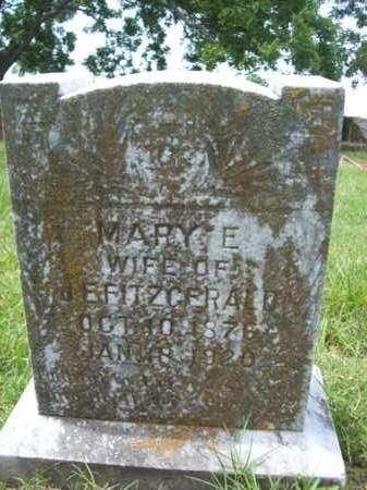 FITZGERALD, MARY E. - Erath County, Texas   MARY E. FITZGERALD - Texas Gravestone Photos