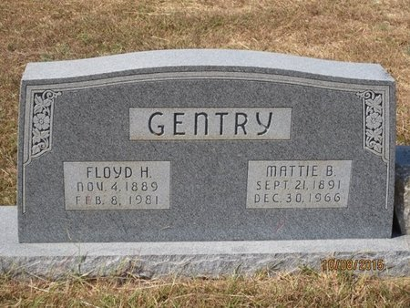 GENTRY, MATTIE BELL - Erath County, Texas | MATTIE BELL GENTRY - Texas Gravestone Photos