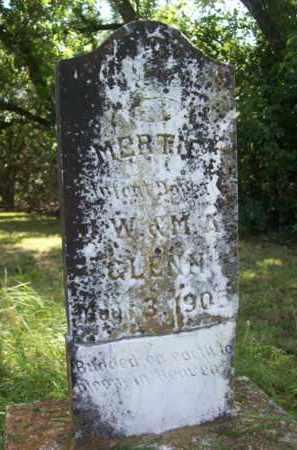 GLENN, MERTIE - Erath County, Texas | MERTIE GLENN - Texas Gravestone Photos