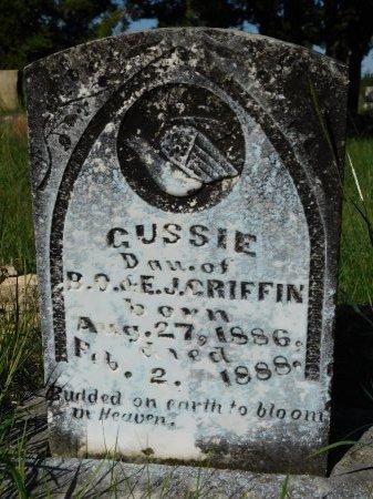 GRIFFIN, GUSSIE - Erath County, Texas | GUSSIE GRIFFIN - Texas Gravestone Photos