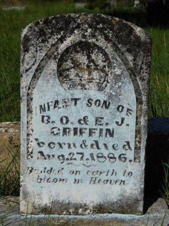 GRIFFIN, INFANT SON - Erath County, Texas   INFANT SON GRIFFIN - Texas Gravestone Photos
