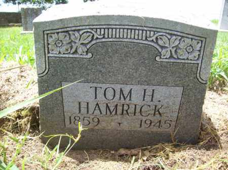 HAMRICK, TOM H. - Erath County, Texas | TOM H. HAMRICK - Texas Gravestone Photos