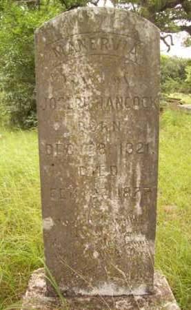 HANCOCK, MANERVIA - Erath County, Texas   MANERVIA HANCOCK - Texas Gravestone Photos