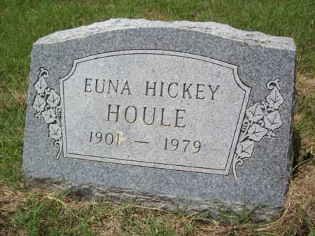 HOULE, EUNA - Erath County, Texas | EUNA HOULE - Texas Gravestone Photos
