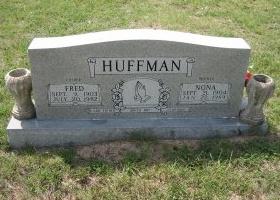 HUFFMAN, NONA - Erath County, Texas | NONA HUFFMAN - Texas Gravestone Photos