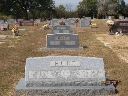 HUNT, JOHN LOUIS - Erath County, Texas | JOHN LOUIS HUNT - Texas Gravestone Photos