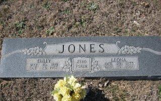 JONES, EULEY - Erath County, Texas | EULEY JONES - Texas Gravestone Photos