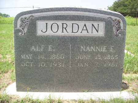 JORDAN, ALF E. - Erath County, Texas | ALF E. JORDAN - Texas Gravestone Photos