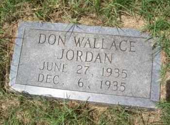 JORDAN, DON WALLACE - Erath County, Texas   DON WALLACE JORDAN - Texas Gravestone Photos