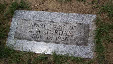 JORDAN, INFANT TWIN -1 - Erath County, Texas | INFANT TWIN -1 JORDAN - Texas Gravestone Photos