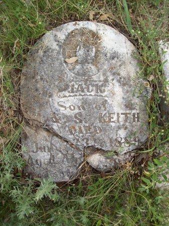 KEITH, JACK - Erath County, Texas | JACK KEITH - Texas Gravestone Photos