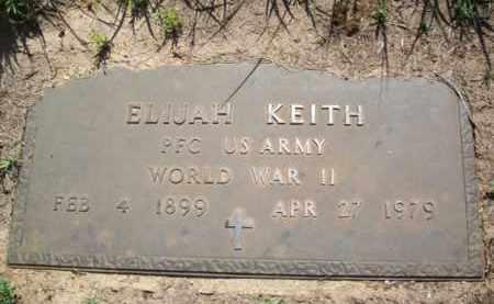 KEITH (VETERAN WWII), ELIJAH - Erath County, Texas | ELIJAH KEITH (VETERAN WWII) - Texas Gravestone Photos