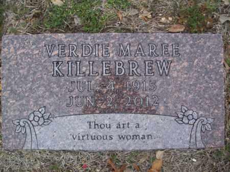BROWNING KILLEBREW, VERDIE MAREE - Erath County, Texas | VERDIE MAREE BROWNING KILLEBREW - Texas Gravestone Photos