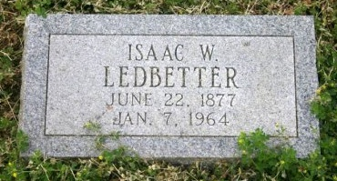LEDBETTER, ISAAC - Erath County, Texas | ISAAC LEDBETTER - Texas Gravestone Photos
