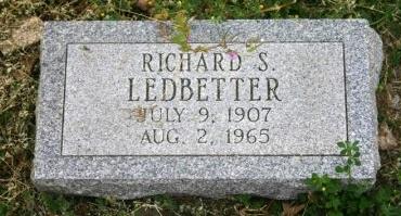 LEDBETTER, RICHARD - Erath County, Texas | RICHARD LEDBETTER - Texas Gravestone Photos