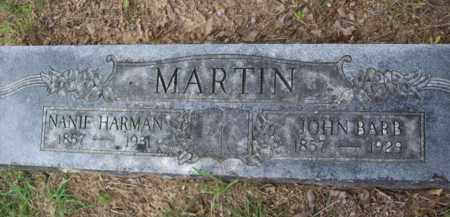 MARTIN, NANIE - Erath County, Texas | NANIE MARTIN - Texas Gravestone Photos