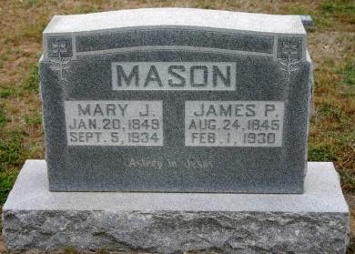 MASON, JAMES - Erath County, Texas | JAMES MASON - Texas Gravestone Photos