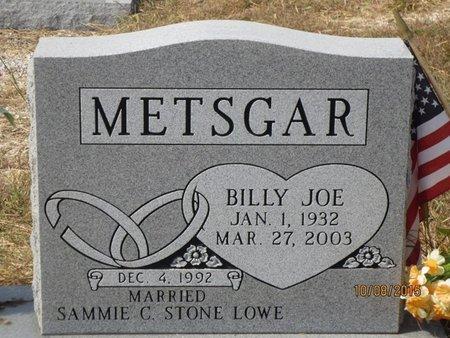 METSGAR, BILLY JOE - Erath County, Texas | BILLY JOE METSGAR - Texas Gravestone Photos