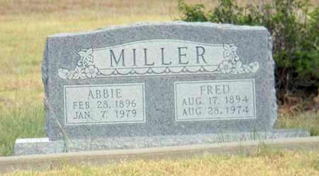 MILLER, FRED - Erath County, Texas | FRED MILLER - Texas Gravestone Photos