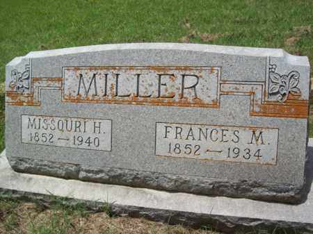 MILLER, FRANCES M. - Erath County, Texas | FRANCES M. MILLER - Texas Gravestone Photos