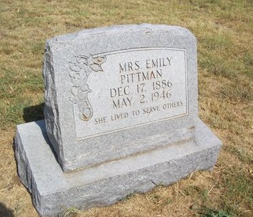 PITTMAN, (MRS.) EMILY ELIZA - Erath County, Texas | (MRS.) EMILY ELIZA PITTMAN - Texas Gravestone Photos