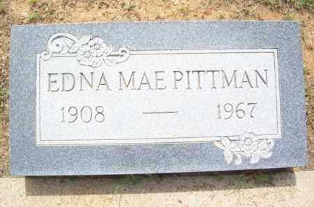 PITTMAN, EDNA MAE - Erath County, Texas | EDNA MAE PITTMAN - Texas Gravestone Photos
