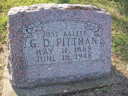 PITTMAN, GEORGE DUFFEY - Erath County, Texas | GEORGE DUFFEY PITTMAN - Texas Gravestone Photos