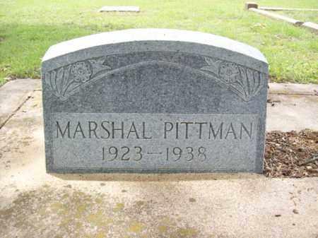PITTMAN, MARSHAL MURRAY - Erath County, Texas | MARSHAL MURRAY PITTMAN - Texas Gravestone Photos
