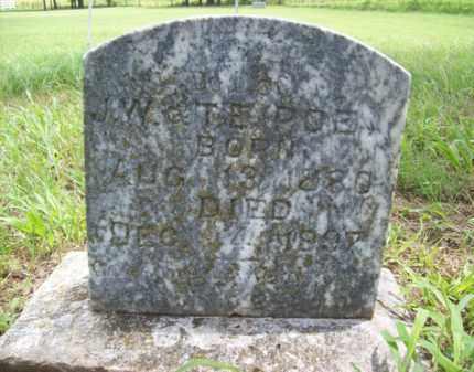 POE, S. H. - Erath County, Texas | S. H. POE - Texas Gravestone Photos
