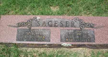SAGESER, LURAH E. - Erath County, Texas | LURAH E. SAGESER - Texas Gravestone Photos