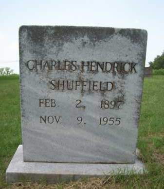SHUFFIELD, CHARLES HENDRICK - Erath County, Texas | CHARLES HENDRICK SHUFFIELD - Texas Gravestone Photos