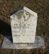 SIMPSON, BURLEY - Erath County, Texas   BURLEY SIMPSON - Texas Gravestone Photos