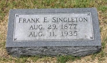 SINGLETON, FRANK - Erath County, Texas | FRANK SINGLETON - Texas Gravestone Photos