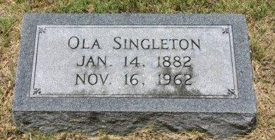 SMITH SINGLETON, OLA - Erath County, Texas | OLA SMITH SINGLETON - Texas Gravestone Photos