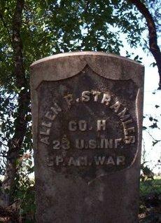 STRAMLER {VETERAN SAW}, ALLEN PINCKNEY - Erath County, Texas | ALLEN PINCKNEY STRAMLER {VETERAN SAW} - Texas Gravestone Photos