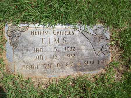 TIMS, HENRY CHARLES - Erath County, Texas | HENRY CHARLES TIMS - Texas Gravestone Photos