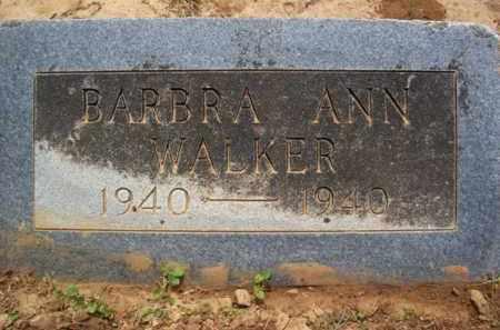 WALKER, BARBRA ANN - Erath County, Texas | BARBRA ANN WALKER - Texas Gravestone Photos