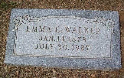 WALKER, EMMA CORDELIA - Erath County, Texas | EMMA CORDELIA WALKER - Texas Gravestone Photos
