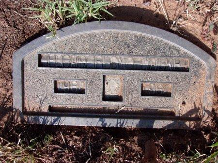 WALKER, EDGAR FLOYD - Erath County, Texas   EDGAR FLOYD WALKER - Texas Gravestone Photos
