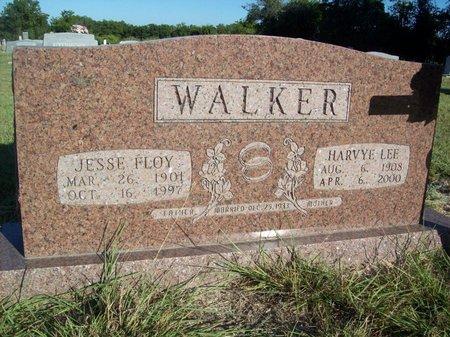 WALKER, JESSE FLOY - Erath County, Texas | JESSE FLOY WALKER - Texas Gravestone Photos