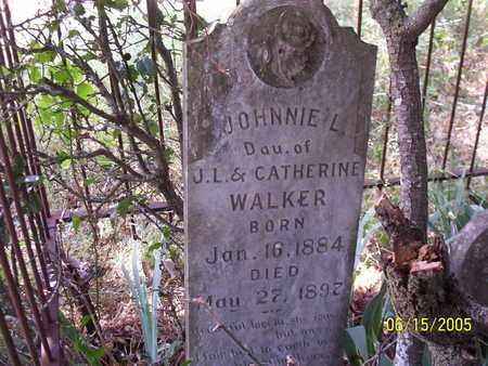 WALKER, JOHNNIE L - Erath County, Texas   JOHNNIE L WALKER - Texas Gravestone Photos