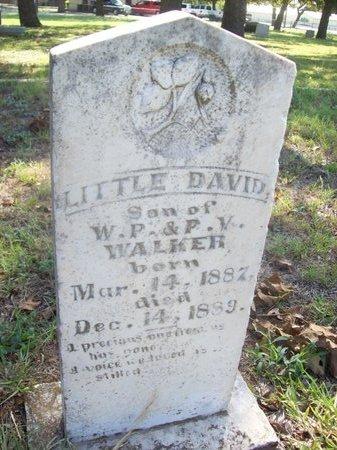 WALKER, LITTLE DAVID - Erath County, Texas | LITTLE DAVID WALKER - Texas Gravestone Photos