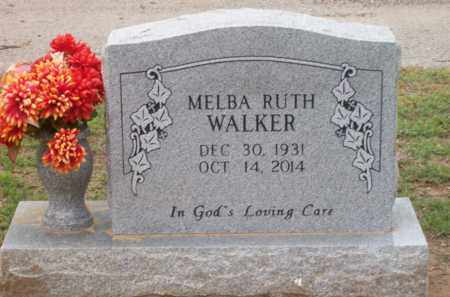 WALKER, MELBA RUTH - Erath County, Texas   MELBA RUTH WALKER - Texas Gravestone Photos
