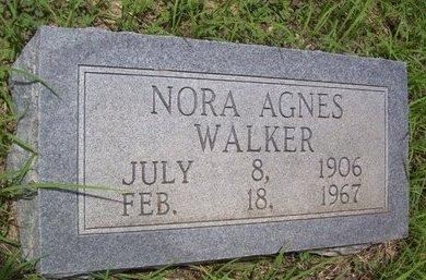 WALKER, NORA AGNES - Erath County, Texas | NORA AGNES WALKER - Texas Gravestone Photos