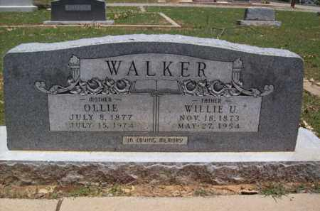 WALKER, OLLIE - Erath County, Texas   OLLIE WALKER - Texas Gravestone Photos