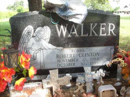 "WALKER, ROBERT CLINTON ""ROBBIE"" - Erath County, Texas   ROBERT CLINTON ""ROBBIE"" WALKER - Texas Gravestone Photos"