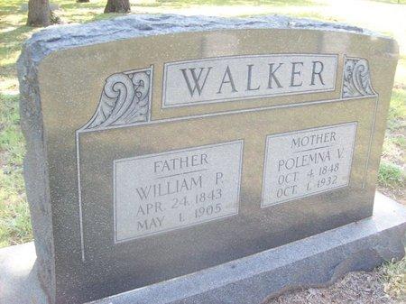 WALKER, POLEMNA V. - Erath County, Texas | POLEMNA V. WALKER - Texas Gravestone Photos