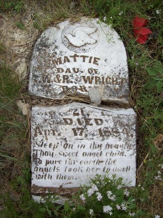 WRIGHT, MATTIE - Erath County, Texas | MATTIE WRIGHT - Texas Gravestone Photos