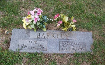 BARKLEY, JACK - Falls County, Texas | JACK BARKLEY - Texas Gravestone Photos