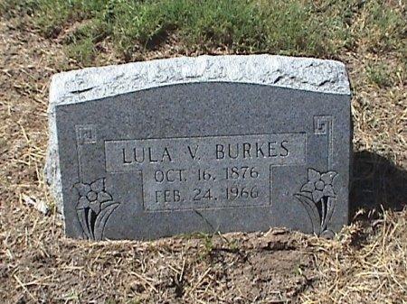 BURKES, LULA V. - Falls County, Texas   LULA V. BURKES - Texas Gravestone Photos